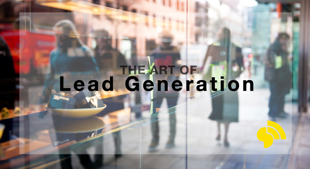 Lead Generation - original photo by Matthias Rhomberg