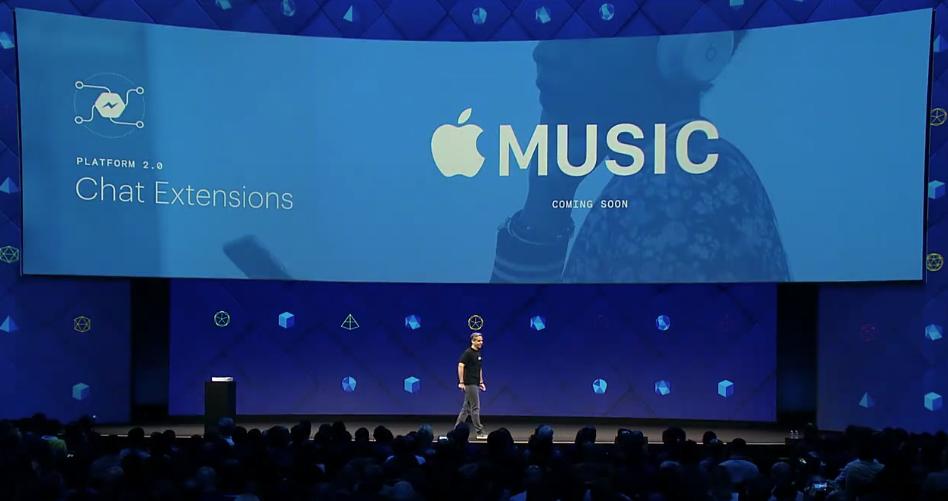 Music on Messenger