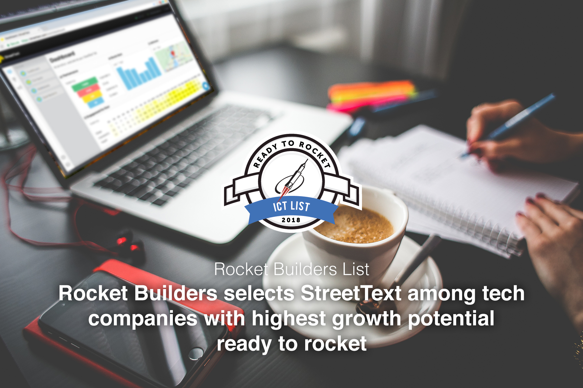 StreetText is selected on 2018 Ready To Rocket ICT list