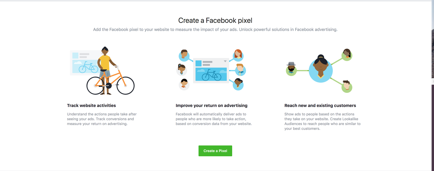 Create a Facebook ad pixel
